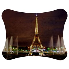 Paris Eiffel Tower Jigsaw Puzzle Photo Stand (Bow)
