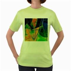 New Form Technology Women s Green T-Shirt