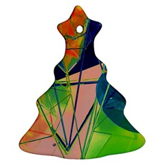 New Form Technology Christmas Tree Ornament (Two Sides)