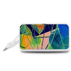 New Form Technology Portable Speaker (White)