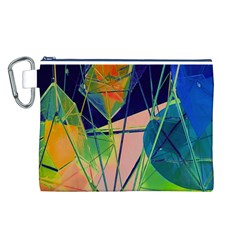 New Form Technology Canvas Cosmetic Bag (L)