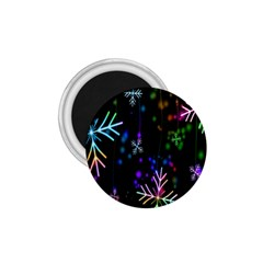 Nowflakes Snow Winter Christmas 1.75  Magnets