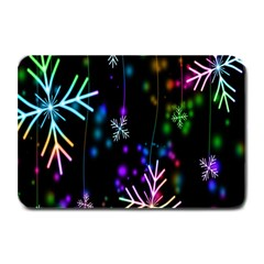 Nowflakes Snow Winter Christmas Plate Mats