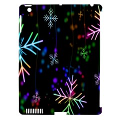Nowflakes Snow Winter Christmas Apple iPad 3/4 Hardshell Case (Compatible with Smart Cover)