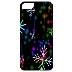 Nowflakes Snow Winter Christmas Apple iPhone 5 Classic Hardshell Case