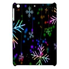 Nowflakes Snow Winter Christmas Apple iPad Mini Hardshell Case