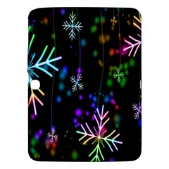 Nowflakes Snow Winter Christmas Samsung Galaxy Tab 3 (10.1 ) P5200 Hardshell Case