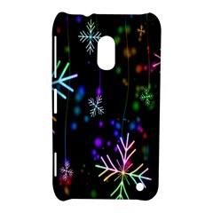 Nowflakes Snow Winter Christmas Nokia Lumia 620