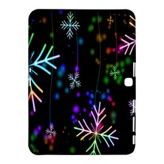 Nowflakes Snow Winter Christmas Samsung Galaxy Tab 4 (10.1 ) Hardshell Case
