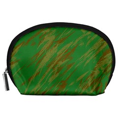 Brown green texture                                                  Accessory Pouch