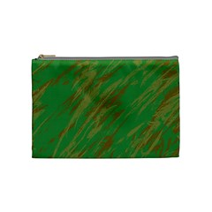 Brown green texture                                                  Cosmetic Bag