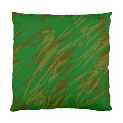 Brown green texture                                                  Standard Cushion Case (Two Sides)
