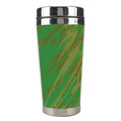 Brown green texture                                                  Stainless Steel Travel Tumbler