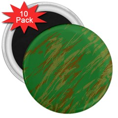 Brown green texture                                                  3  Magnet (10 pack)