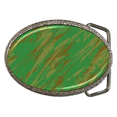 Brown green texture                                                  			Belt Buckle