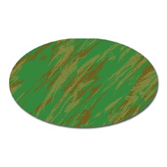 Brown green texture                                                  Magnet (Oval)