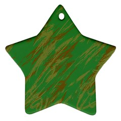 Brown green texture                                                  			Ornament (Star)