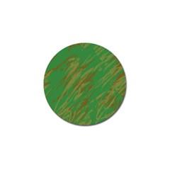 Brown green texture                                                  Golf Ball Marker