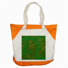 Brown green texture                                                  			Accent Tote Bag
