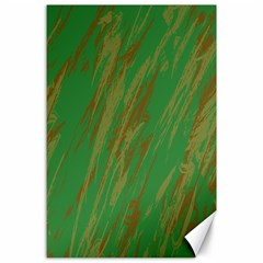 Brown green texture                                                  			Canvas 24  x 36