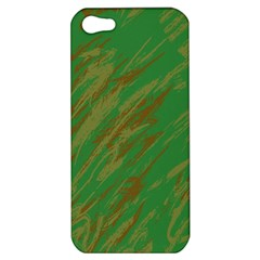 Brown green texture                                                 			Apple iPhone 5 Hardshell Case