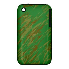 Brown green texture                                                 Apple iPhone 3G/3GS Hardshell Case (PC+Silicone)