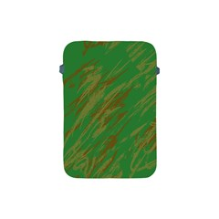 Brown green texture                                                 			Apple iPad Mini Protective Soft Case