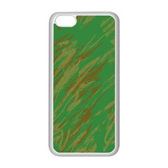 Brown green texture                                                 Apple iPhone 5C Seamless Case (White)