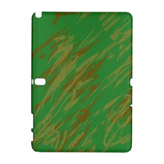 Brown green texture                                                 			Samsung Galaxy Note 10.1 (P600) Hardshell Case