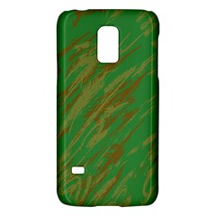 Brown green texture                                                 			Samsung Galaxy S5 Mini Hardshell Case