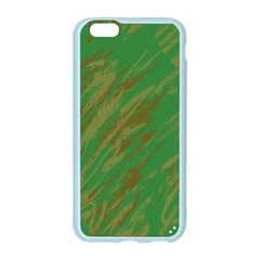 Brown green texture                                                 			Apple Seamless iPhone 6/6S Case (Color)