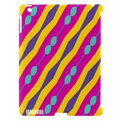 Blue bead chains                                                  Apple iPad 3/4 Hardshell Case (Compatible with Smart Cover)