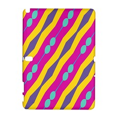 Blue bead chains                                                  Samsung Galaxy Note 10.1 (P600) Hardshell Case