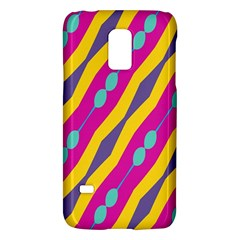 Blue bead chains                                                  			Samsung Galaxy S5 Mini Hardshell Case