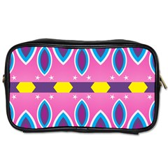 Ovals and stars                                                    Toiletries Bag (Two Sides)