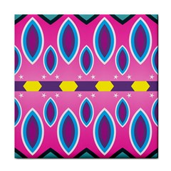 Ovals and stars                                                    Tile Coaster