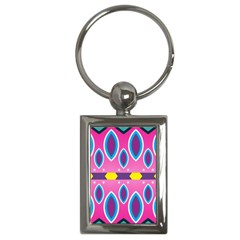 Ovals and stars                                                    Key Chain (Rectangle)