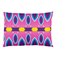 Ovals and stars                                                    			Pillow Case