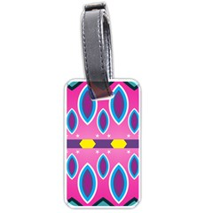 Ovals and stars                                                    Luggage Tag (one side)
