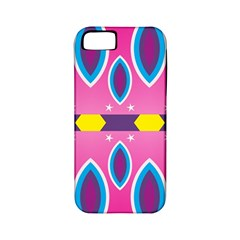 Ovals and stars                                                   			Apple iPhone 5 Classic Hardshell Case (PC+Silicone)