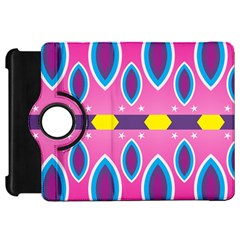 Ovals and stars                                                   Kindle Fire HD Flip 360 Case
