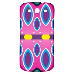 Ovals and stars                                                   			Samsung Galaxy S3 S III Classic Hardshell Back Case