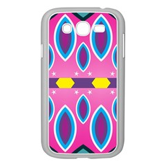 Ovals And Stars                                                   samsung Galaxy Grand Duos I9082 Case (white)