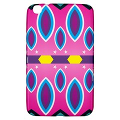 Ovals and stars                                                   			Samsung Galaxy Tab 3 (8 ) T3100 Hardshell Case
