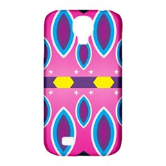 Ovals and stars                                                   Samsung Galaxy S4 Classic Hardshell Case (PC+Silicone)