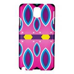 Ovals and stars                                                   Samsung Galaxy Note 3 N9005 Hardshell Case