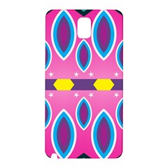 Ovals and stars                                                   Samsung Galaxy Note 3 N9005 Hardshell Back Case