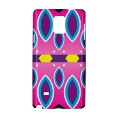 Ovals and stars                                                   			Samsung Galaxy Note 4 Hardshell Case