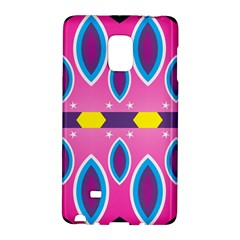 Ovals and stars                                                   			Samsung Galaxy Note Edge Hardshell Case