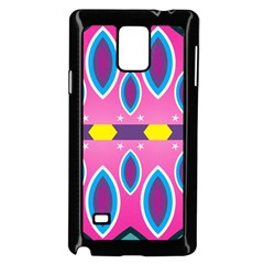 Ovals and stars                                                   Samsung Galaxy Note 4 Case (Black)